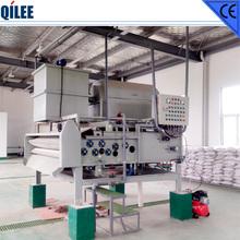 Belt Filter Press for Fruit or Vegetable Juice Treatment for food industry