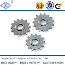 DIN 8187 ISO/R 606 5/8''*3/8'' 10b-1 simplex roller chain pitch 12.7 roller 8.51 27T chain sprocket with hardening teeth