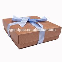 Foldable Kraft Paper Carton Gift Boxes