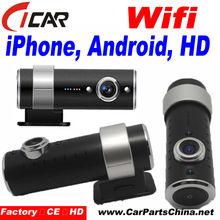 IR night vision Allwinner A10 HD720p CE Factory Price 120 degree wide angle lensbest hidden Dashcam Camera