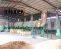 Proporcionar de cáscara de coco secador rotatorio para de secado de cáscara de coco, Carbón, Astillas de madera, Aserrín, Pellets, Polvo -- Sinoder marca