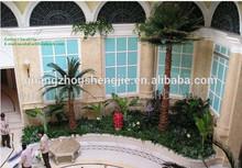 china supplier/guangzhou shengjie/artificial tree trunks/artificial palm tree garden ornaments