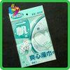 Yiwu printing opp & cpp plastic bag resealable