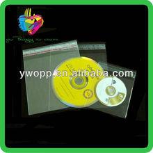 Yiwu custom adhesvie opp polypropylene cd sleeves