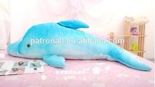 Selling good in Brasil market/ Soft stuffed dolphin plush toy / cute birthday gift/valentine present