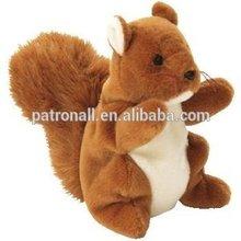 Plush toy squirrel /Soft stuffed/ soft plush animal toys