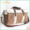 GF-X297 Sport Luggage Duffel Bag Made in Canvas and leather trim