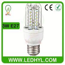 energy star 3w e27 led energy saving corn bulb light lamp 3W energy smart led bulb
