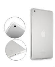 Crystal high Clear Transparent TPU Silicone Rubber Skin Gel Case for iPad Mini 1/ mini2 with Retina 7.9