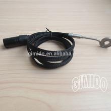 120V Black Kevlar Sleeve Flat Coil Heater