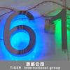 3d metal sign letter brushed stainless steel letters sign backlit led letter sign