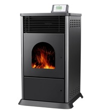 biomass pellet high efficiency cast iron fireplace