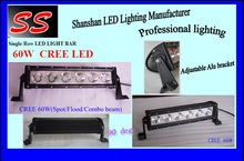 Hot-sale item 60w 14inch led light bar CE ROHS IP67 usb flash drive led lights