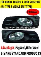 for honda accord 4-door 2006~2007 (U.S.TYPE)car fog lights
