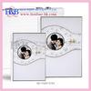 H&B 8*12, 12*18 silver acrylic wedding karizma album designs