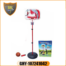 Wholesale china hot child toys plastic naughty outdoor basketball stand