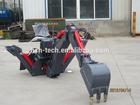 small backhoe digger equipment for skid loader for sale