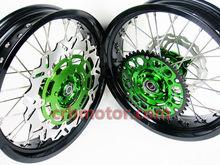 MOTORCYCLE SPARE PARTS RIM SM/MX WHEELS SETS FOR KTM HONDA YAMAHA KAWASAKI SUZUKI