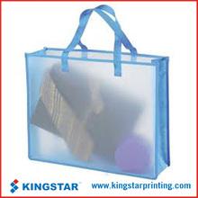 pvc transparent hand bag