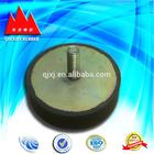 Round rubber bumper
