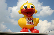 Inflatable big duck balloon for 2014
