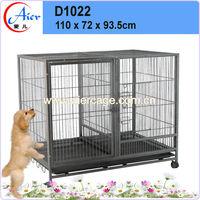 Decorative dog houses steel bar dog cage