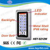 13.56mhz wiegand26 input rfid standalone access control security keypad with waterproof case