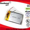 Rechargeable battery 3.6v 1000mah / 3.7v 1000mah 25c 1s lipo battery pack