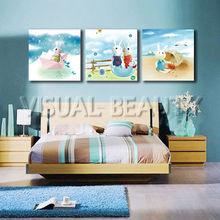 Wholesale Home Decor Canvas Prints Cartoon Picture for kids room