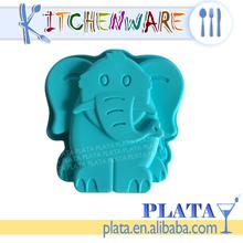 Silicone Elephant Shape Cake Mould