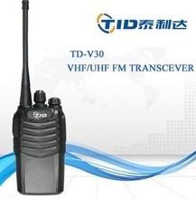 TID TD-V30 analog vhf uhf 5w walky talky solar portable cb radio