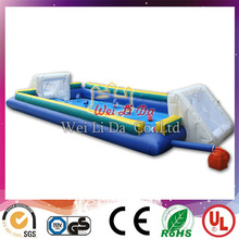 Factory EN14960 Durable inflatable football pitch for sale