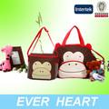 обезьяна ребенка мешки multi- функция множество мультфильмов цвет хорошее качество для мамы