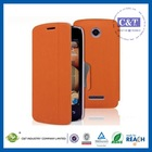 New Arrival Factory price high quality pu leather case for lenovo a2107