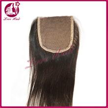 Fashion new arrival peruvian virgin hair lace closures