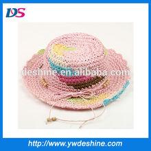wholesale unique children paper straw hat MZ704