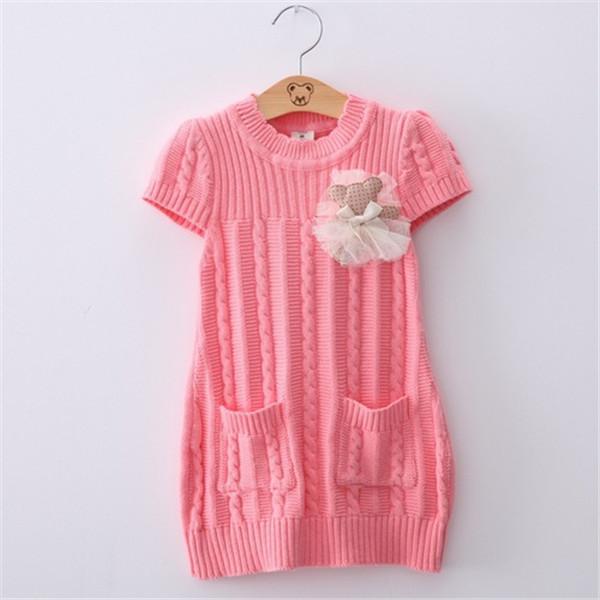 Short knit dress Photo 7