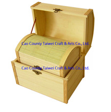 Hot Selling Fine Sleeve Solid Natural Wooden and bamboo box with Metal Lock