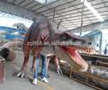 personalizado de dinosaurios animatronics dinosaurio caminar marioneta