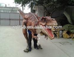 Custom Dinosaur Animatronics Dinosaur costume hand puppet
