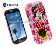 Wholesale plastic custom Case For samsung s3 logo print phone case