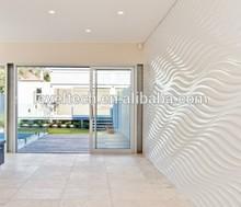 1220*2440mm 3D MDF Board Decorative Wall Panels For Interior Design