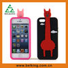 Silicone case for iphone 5s,Giraffe case for iphone 5s