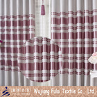 Cationic Textile Polyester Jacquard Hotel Blackout Curtain Fabric