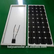 2014 Hot sell 12v 130w monocrystal solar panel