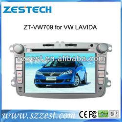 ZESTECH China Factory OEM 2 Din Touch screen for Volkswagen VW LAVIDA Gps Navigation