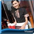 de haute qualité hot vente de serveurs de restaurant uniforme avec oem