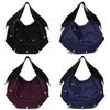 2014 stylish barbed design bag 600D nylon handbag