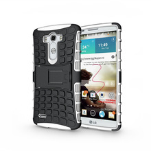 High Quality Robot Armor Stand Holder 2 in 1 TPU+Plastic Combo case Cell phone cover for LG G3