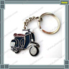 Cool men black vespa scooter mod enamel keyring metal key chain motorcycle